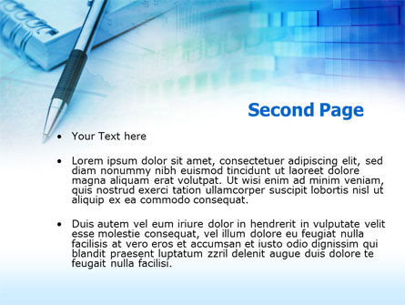 Notes PowerPoint Template, Slide 2, 00404, Business — PoweredTemplate.com
