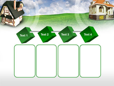 Country Cottages PowerPoint Template Slide 18