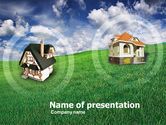 Business: Country Cottages PowerPoint Template #00407