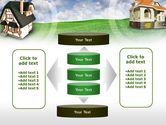 Country Cottages PowerPoint Template#13