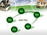 Country Cottages PowerPoint Template#14