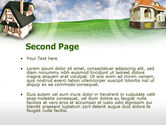 Country Cottages PowerPoint Template#2