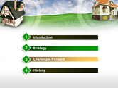 Country Cottages PowerPoint Template#3