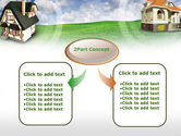Country Cottages PowerPoint Template#4
