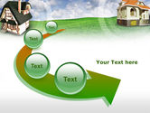 Country Cottages PowerPoint Template#6