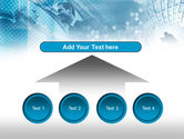 Business Meeting In Blue Colors PowerPoint Template#8