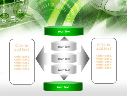 Time Management In Green PowerPoint Template Slide 13