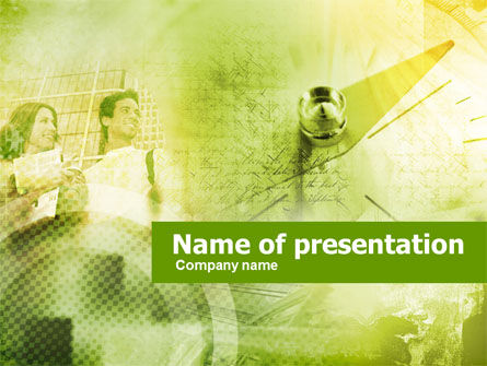 Business: Professional Orientation PowerPoint Template #00413