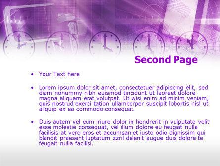 TV station PowerPoint Template, Slide 2, 00417, Telecommunication — PoweredTemplate.com