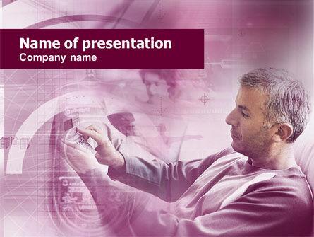 Telecommunication: Modelo de PowerPoint Grátis - tecnologia da informação #00420