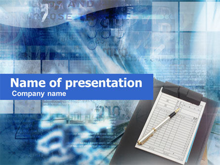 Registry Form PowerPoint Template