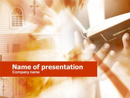 Religious/Spiritual: Kirche PowerPoint Vorlage #00426