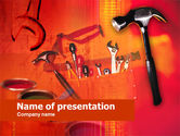 Utilities/Industrial: Werkzeuge und instrumente PowerPoint Vorlage #00429