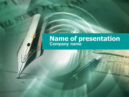 Stock Market Analysis PowerPoint Template, 00430, Business U2014  PoweredTemplate.com