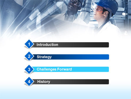 Industrial Process PowerPoint Template, Slide 3, 00432, Utilities/Industrial — PoweredTemplate.com
