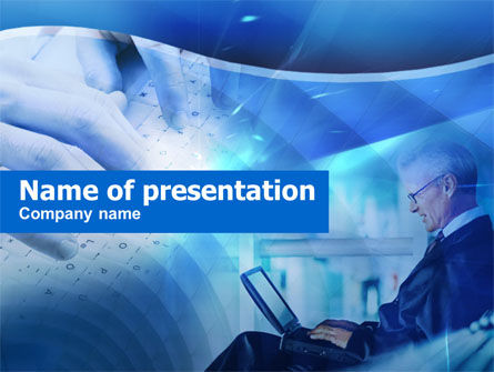 Technology and Science: Lange Afstand Deal PowerPoint Template #00433