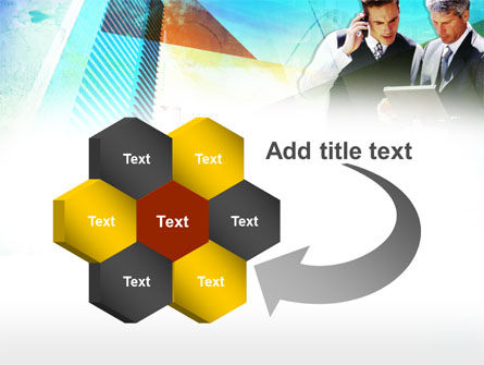 Business Talk With Checking Data PowerPoint Template Slide 11