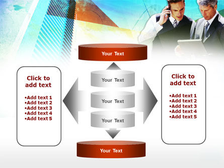Business Talk With Checking Data PowerPoint Template Slide 13