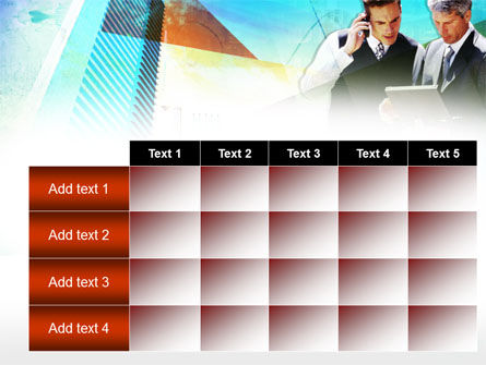 Business Talk With Checking Data PowerPoint Template Slide 15