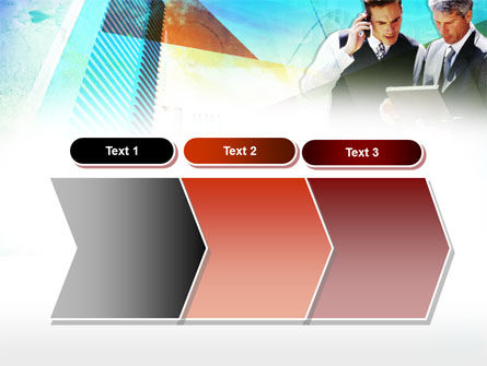Business Talk With Checking Data PowerPoint Template Slide 16