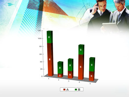 Business Talk With Checking Data PowerPoint Template Slide 17