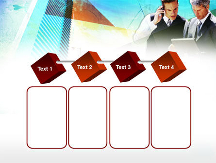 Business Talk With Checking Data PowerPoint Template Slide 18