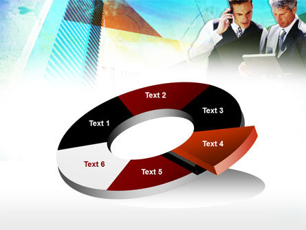 Business Talk With Checking Data PowerPoint Template Slide 19