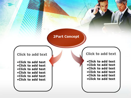 Business Talk With Checking Data PowerPoint Template, Slide 4, 00434, Construction — PoweredTemplate.com