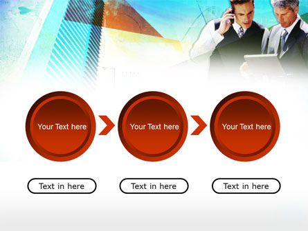 Business Talk With Checking Data PowerPoint Template Slide 5