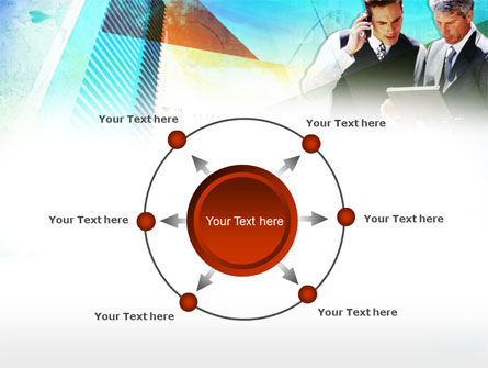 Business Talk With Checking Data PowerPoint Template Slide 7