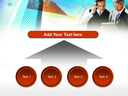 Business Talk With Checking Data PowerPoint Template Slide 8