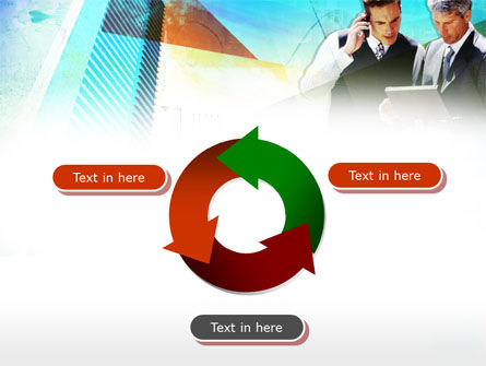 Business Talk With Checking Data PowerPoint Template Slide 9