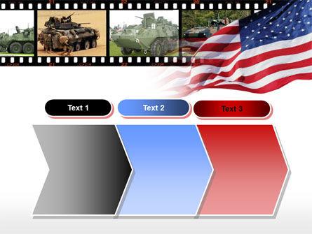 LAV-25 LAV-AD Blazer turret PowerPoint Template Slide 16