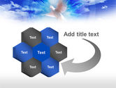 Dove In The Sky PowerPoint Template#11