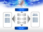 Dove In The Sky PowerPoint Template#13