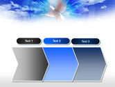 Dove In The Sky PowerPoint Template#16