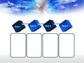 Dove In The Sky PowerPoint Template#18