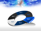 Dove In The Sky PowerPoint Template#19