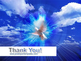 Dove In The Sky PowerPoint Template#20