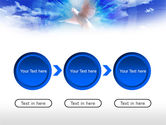 Dove In The Sky PowerPoint Template#5
