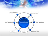 Dove In The Sky PowerPoint Template#7