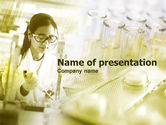 Technology and Science: Laboratorium Test PowerPoint Template #00440