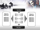 Business Meeting In A Hall PowerPoint Template#13