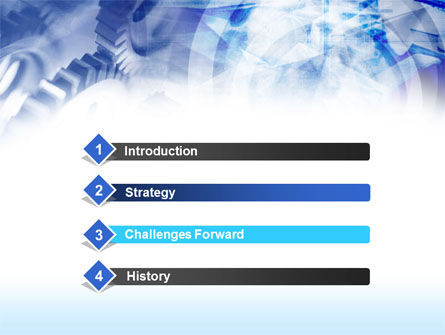 Pinions PowerPoint Template Slide 3