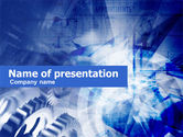 Business Concepts: Modèle PowerPoint de pinons #00448