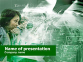 Education & Training: Mathematical Formulas PowerPoint Template #00452