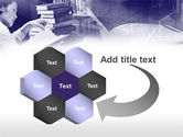 Library in Violet PowerPoint Template#11