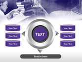 Library in Violet PowerPoint Template#12