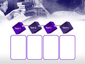 Library in Violet PowerPoint Template#18