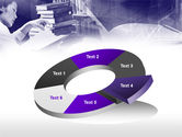 Library in Violet PowerPoint Template#19